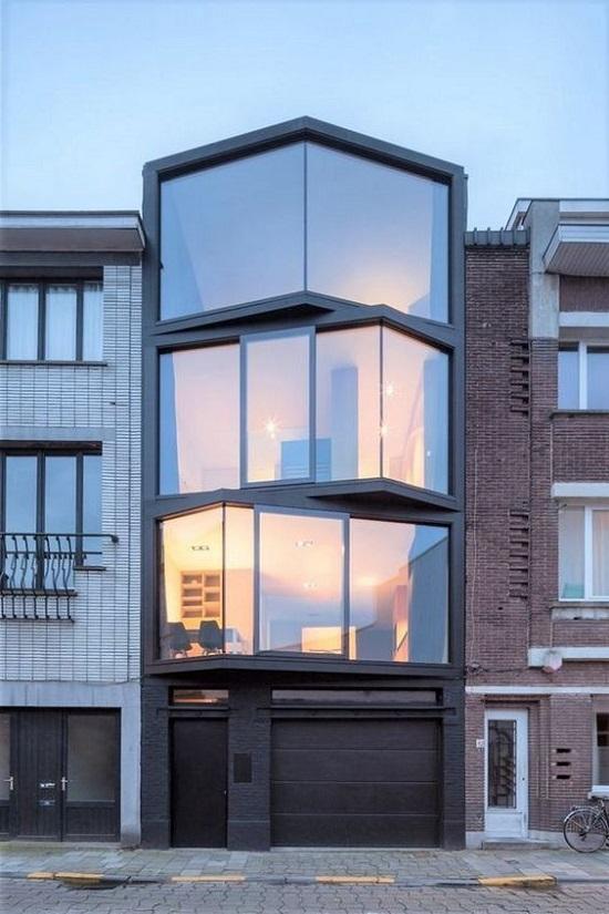 Mẫu thiết kế nhà đẹp hiện đại TPHCM