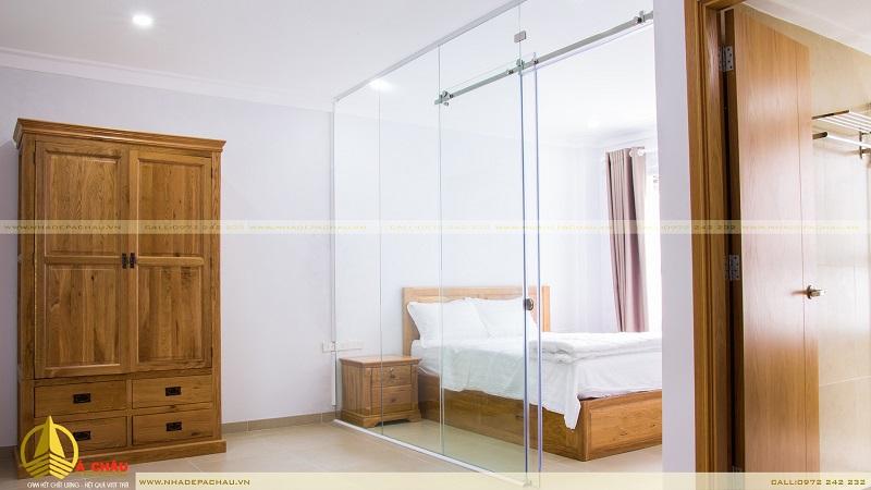 Thiết kế thi công phòng ngủ hiện đại