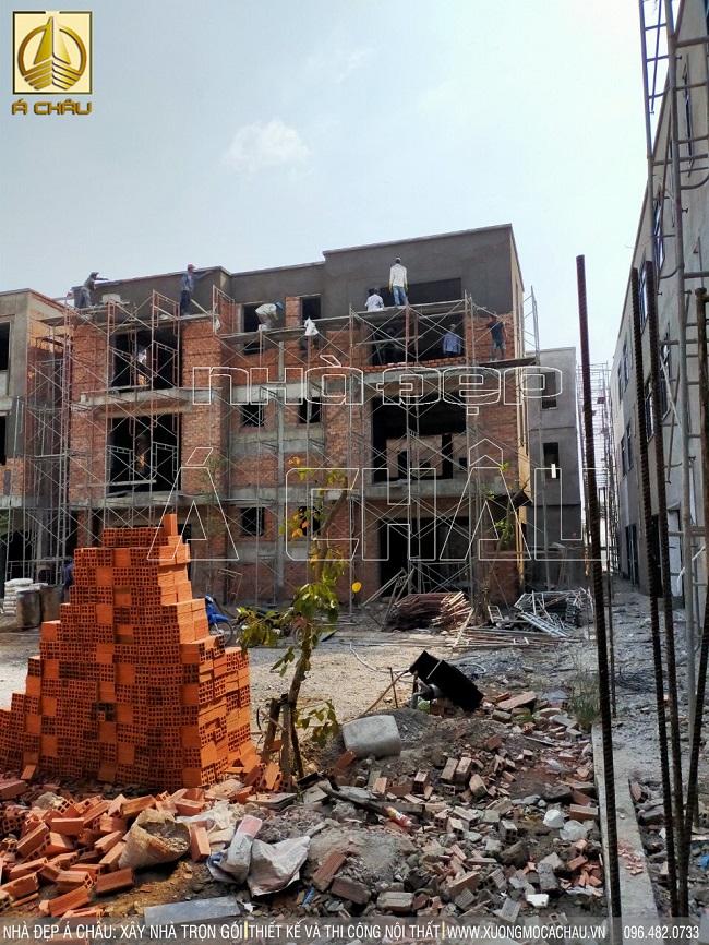 thi công xây dựng phần thô tại quận 12