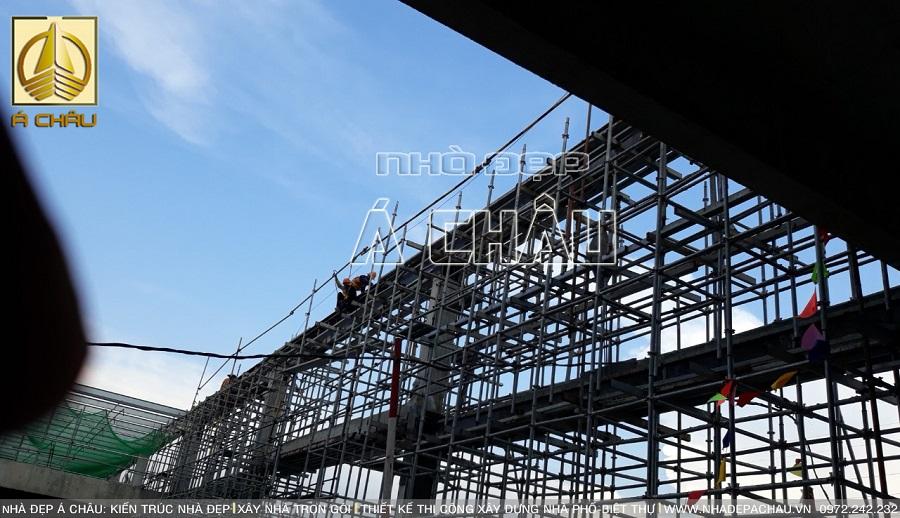 Quá trình thi công xây dựng nhà