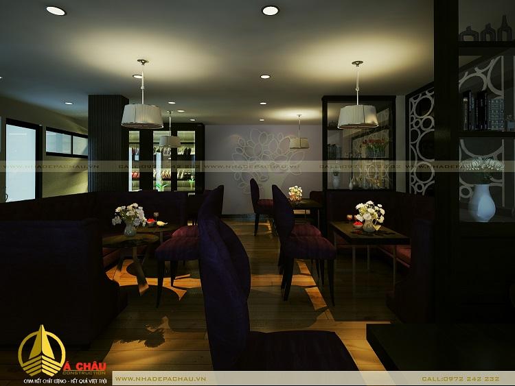 Nội thất quán cafe đẹp anh Thuận quận 1