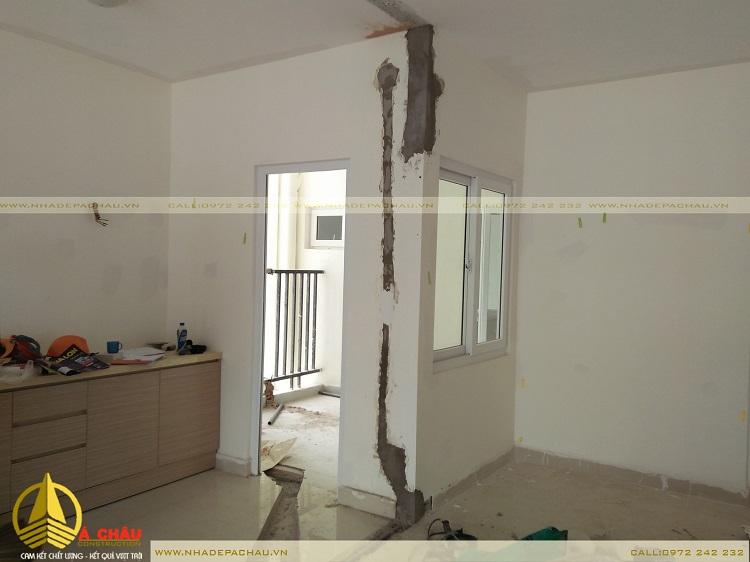 cải tạo lại hệ thống điện cho phù hợp với thiết kế nội thất