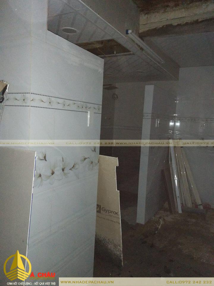 sửa chữa cải tạo nhà cấp 4 nhà anh Khánh Quận 4