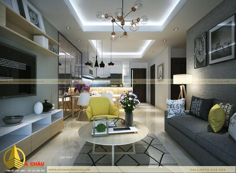 Thiết kế chung cư estella hiện đại