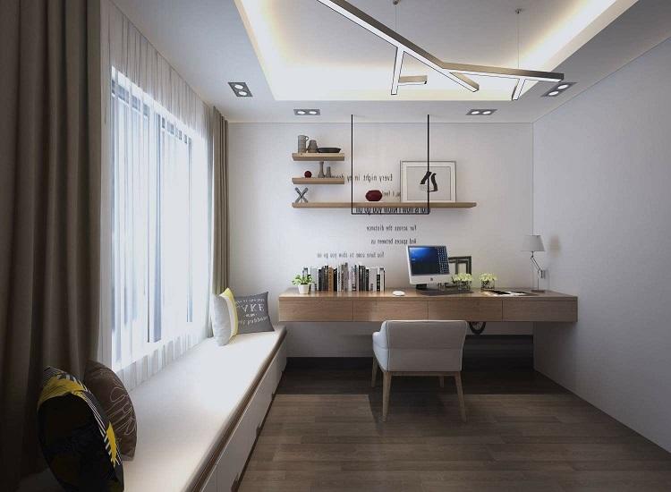 Thiết kế phòng học căn hộ chung cư Estella