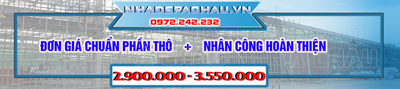 Giá thi công xây dựng nhà năm 2019