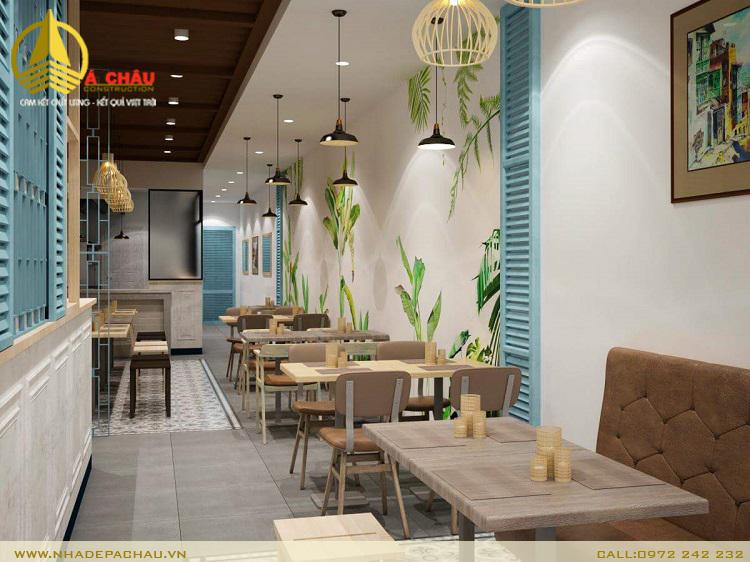 thiết kế nhà hàng giá rẻ quận 1