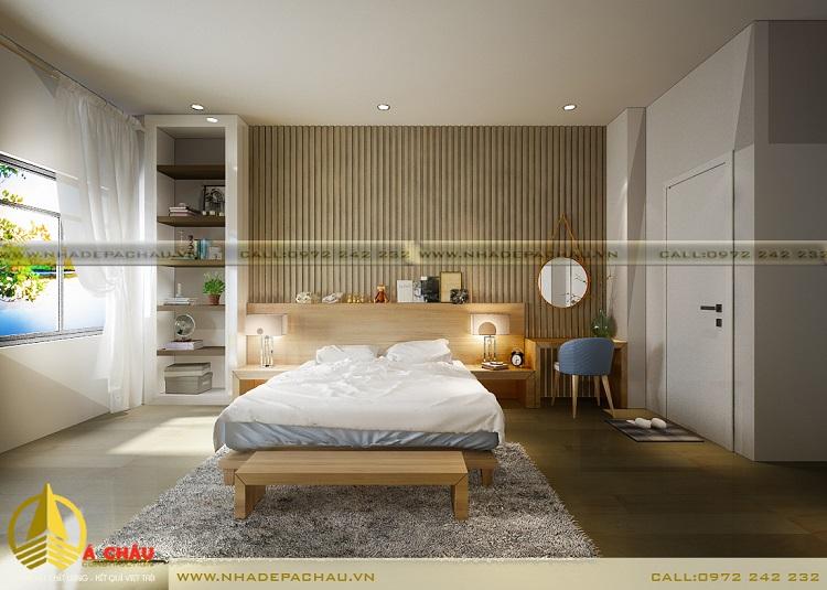 thiết kế phòng ngủ con trai lớn