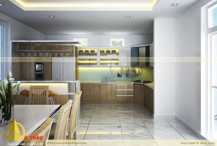 thiết kế tủ bếp đẹp tại TPHCM