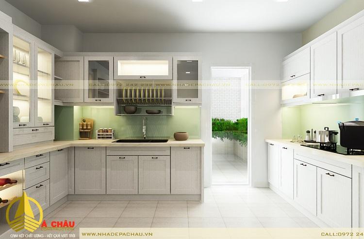 thiết kế thi công nội thất tủ bếp uy tín
