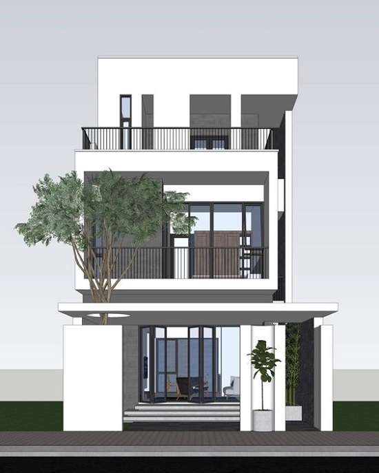Những mẫu nhà đẹp 2 tầng TPHCM