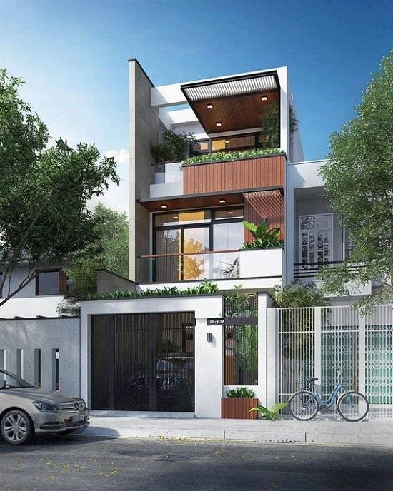 thiết kế mẫu nhà đẹp 2 tầng