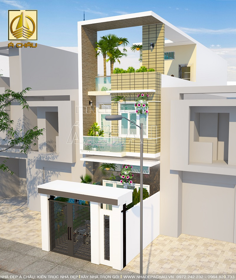 Mẫu nhà đẹp 2 tầng đẹp Quận Gò Vấp