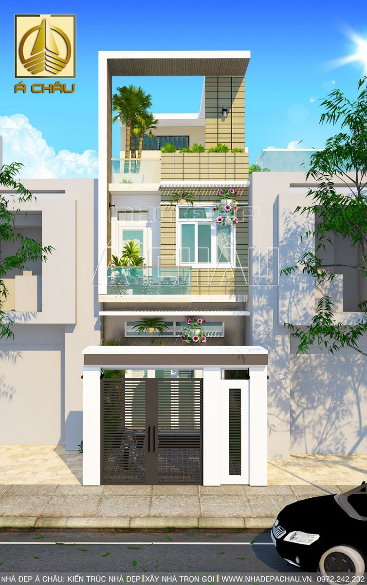 Thiết kế nhà đẹp 2 tầng Quận Gò Vấp