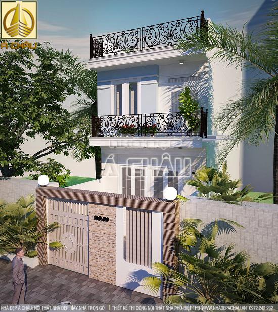 thiết kế và xây dựng nhà phố tai tphcm
