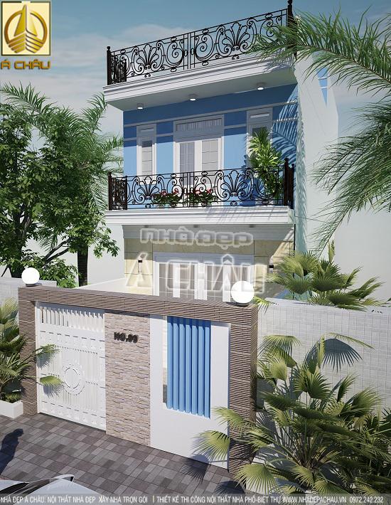 thiết kế và xây dựng nhà phố tại tphcm