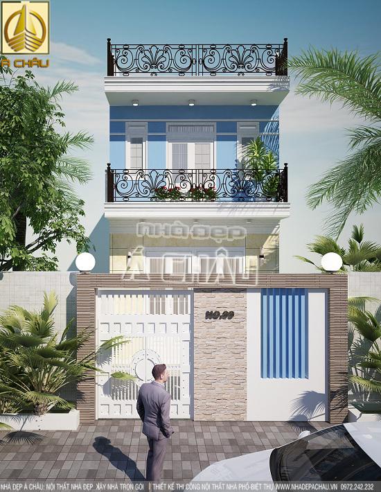 thiết kế và xây dựng nhà phố