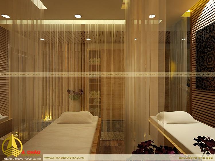 Khu massage 2 giường tầng 1
