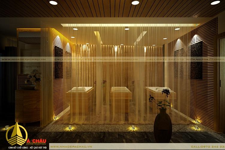 Góc nhìn khác của phòng massage body tầng 1