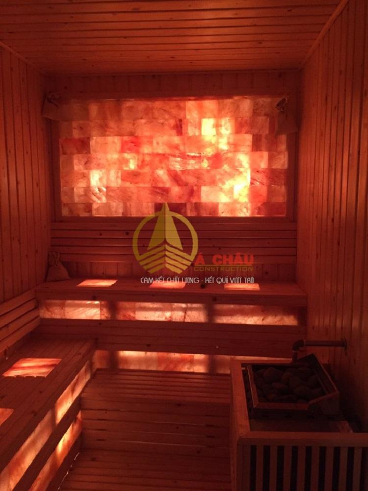 thi công phòng sauna