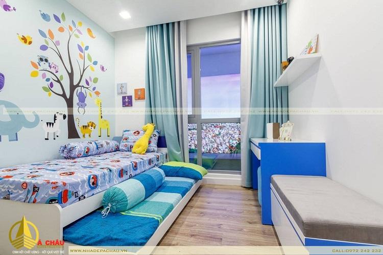 Thiết kế phòng ngủ con trai Melody,Quận Tân Phú