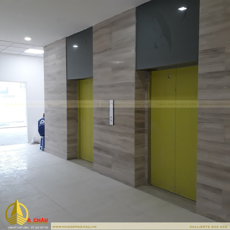 khu thang máy