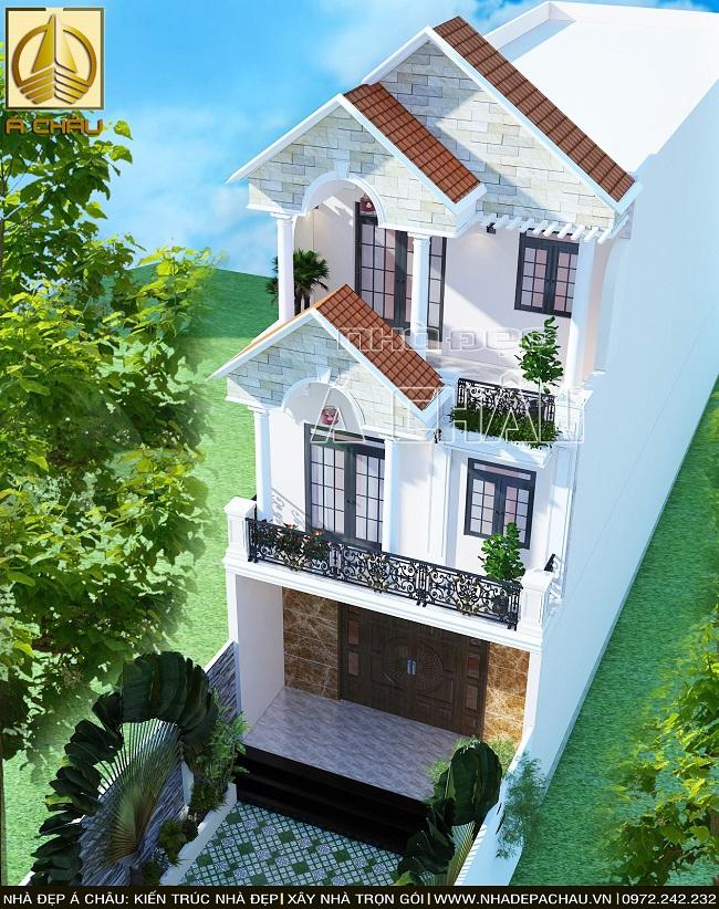 thiết kế nhà đẹp 6x25 quận bình tân