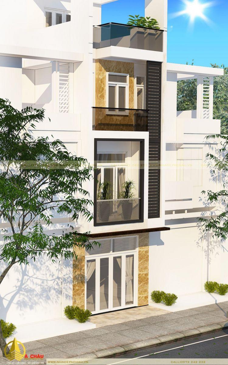 Mẫu thiết kế nhà đẹp 3 tầng