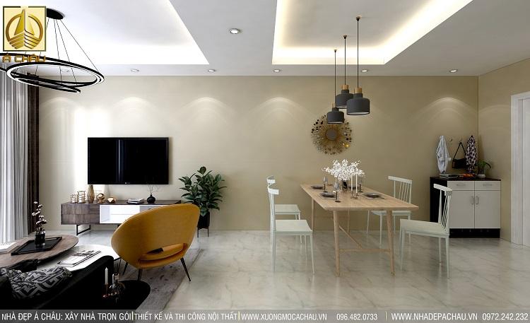 thiết kế nội thất chung cư bình dương