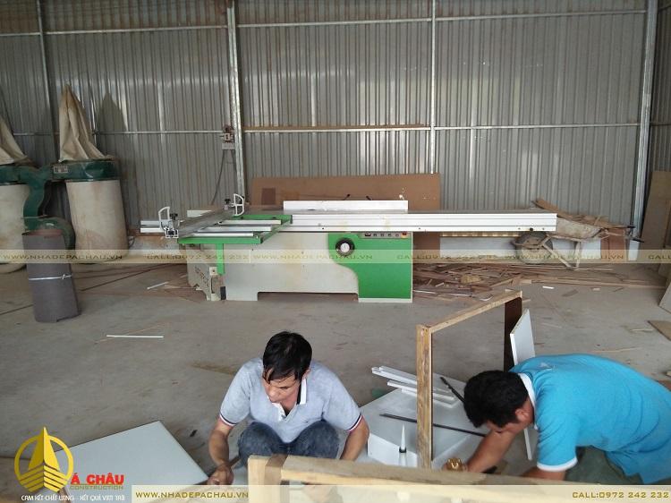 xưởng sản xuất đồ gỗ nội thất Á CHÂU