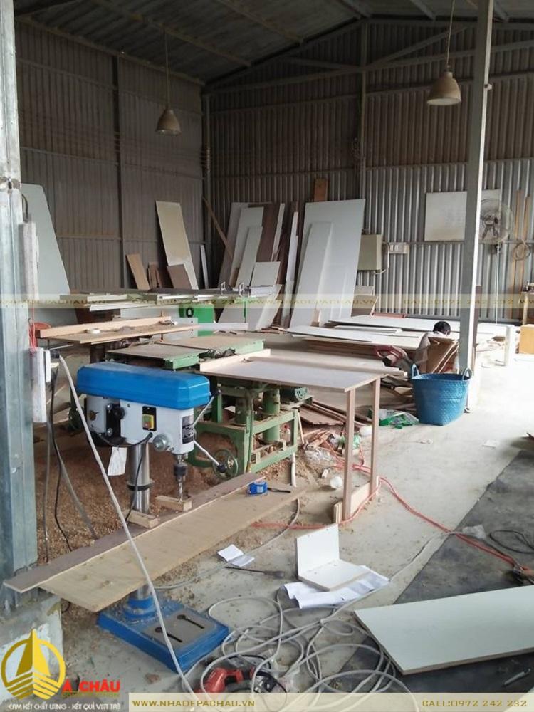 Xưởng đồ gỗ Á CHÂU giá rẻ