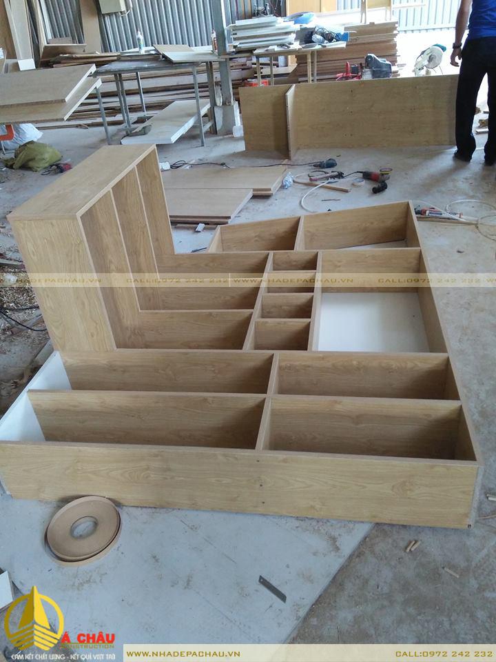 Xưởng sản xuất nội thất gõ công nghiệp